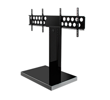 Twin Flat Screen Floor Stand (1.3m)