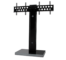 Twin Flat Screen Floor Stand (1.9m)