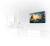 BTV511 Flat Screen Wall Mount with Tilt - Lifestyle Image