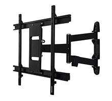 Ventry™ Ultra-Slim Double Arm Flat Screen Wall Mount with Tilt and Swivel