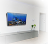 BTV521 Extra Large Flat Screen Wall Mount with Tilt - Lifestyle Image