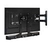Ventry™ Universal Soundbar Mount - In use with BT7515 Double Arm Wall Mount