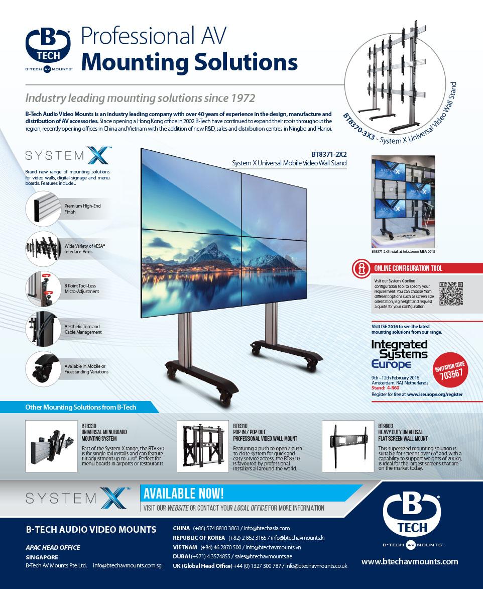 Adverts - B-Tech International