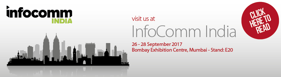 See us at InfoComm India