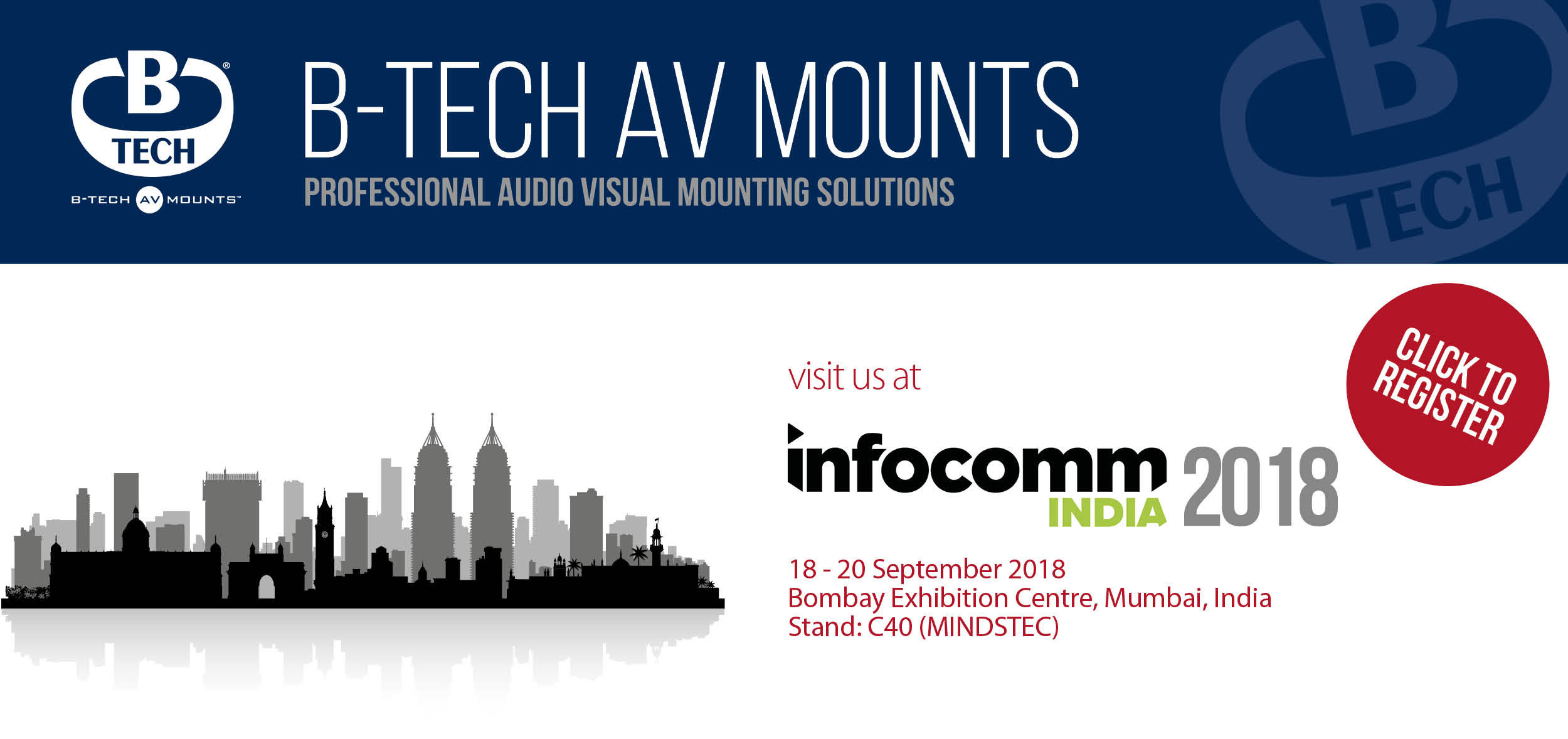 B-Tech Infocomm India 2018