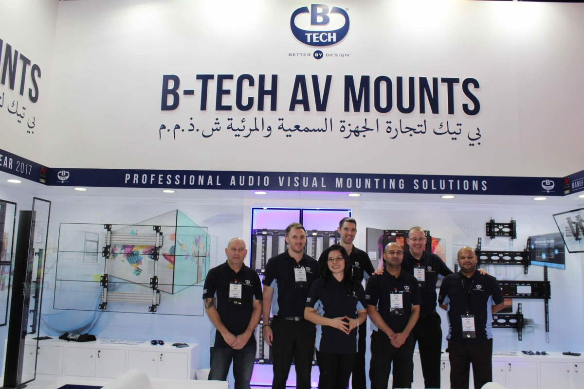 B-Tech Stand @ Infocomm MEA 2017