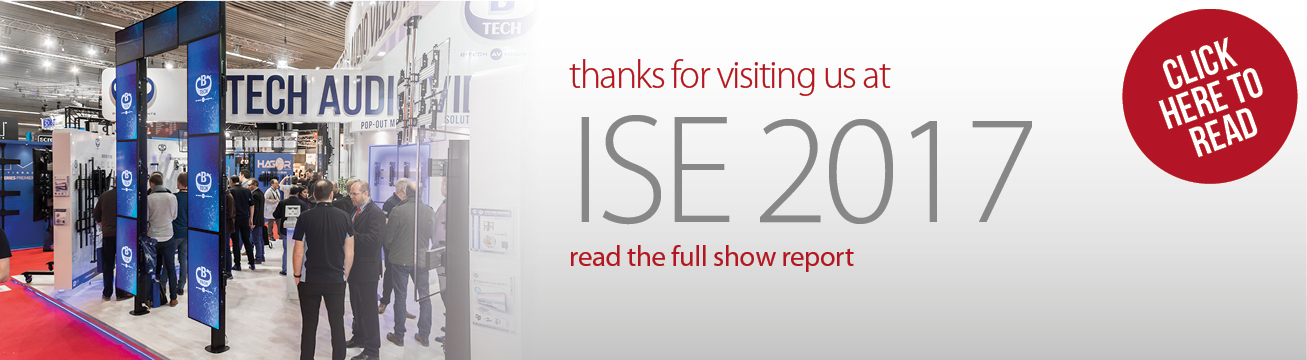 Thanks for visiting us at ISE 2017