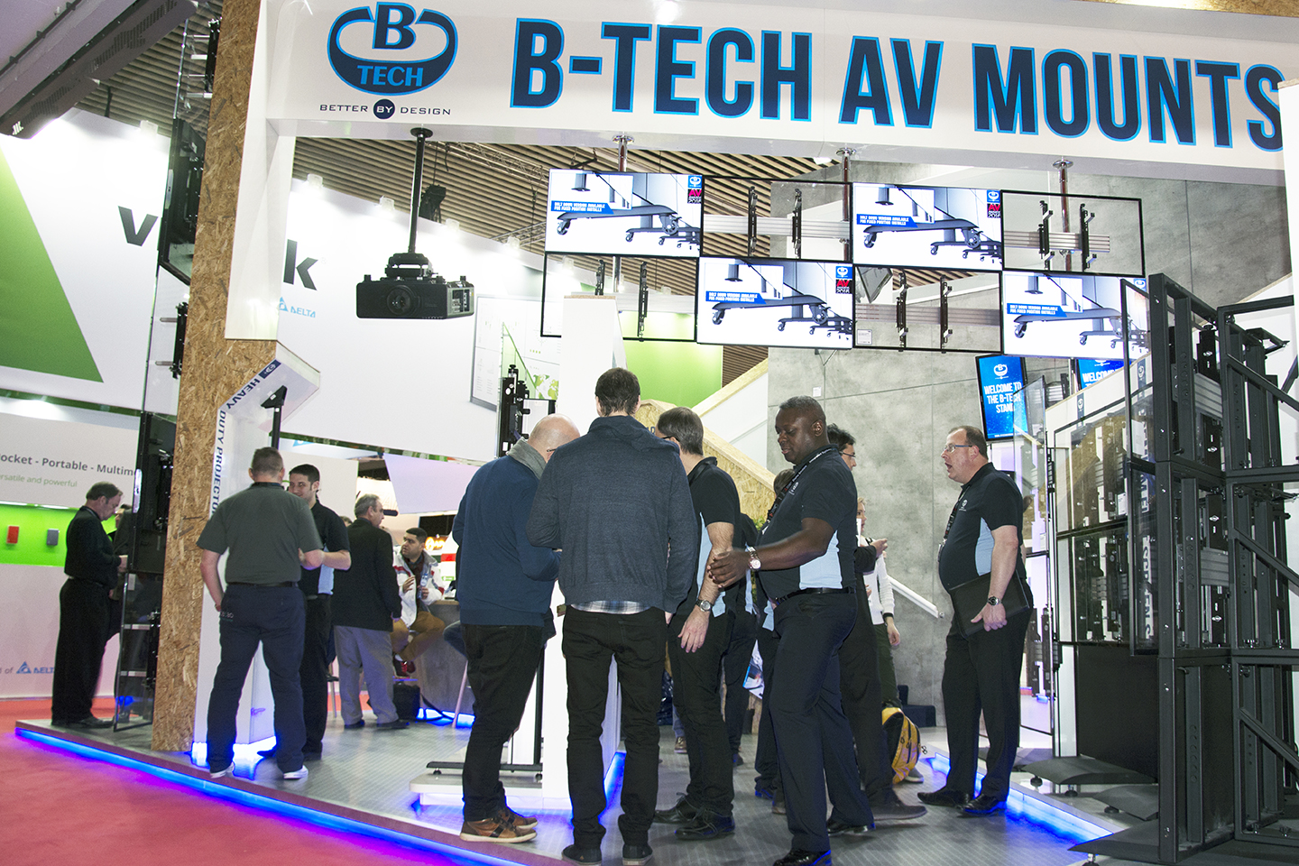 B-Tech ISE 2018 Stand