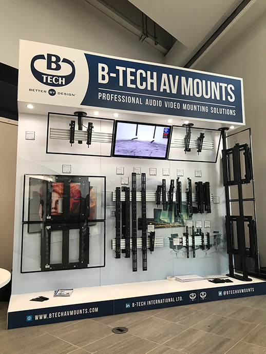B-Tech Stand @ Midwich Technology Exposed 2017