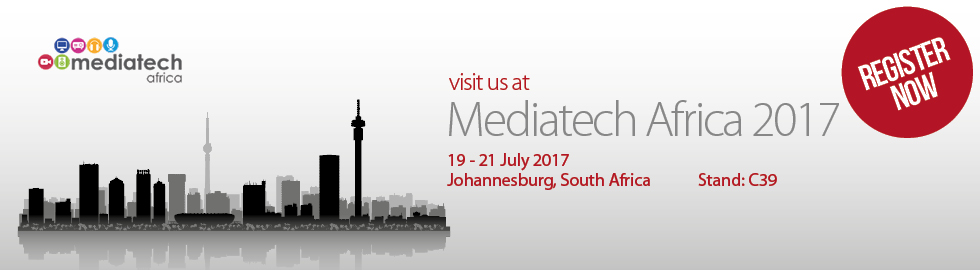 Visit B-Tech at Mediatech Africa 2017