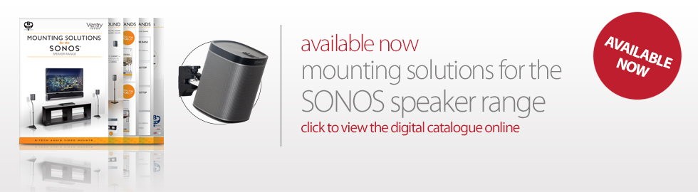 B-Tech International Mounting Solutions for the SONOS Speaker Range - Click to view