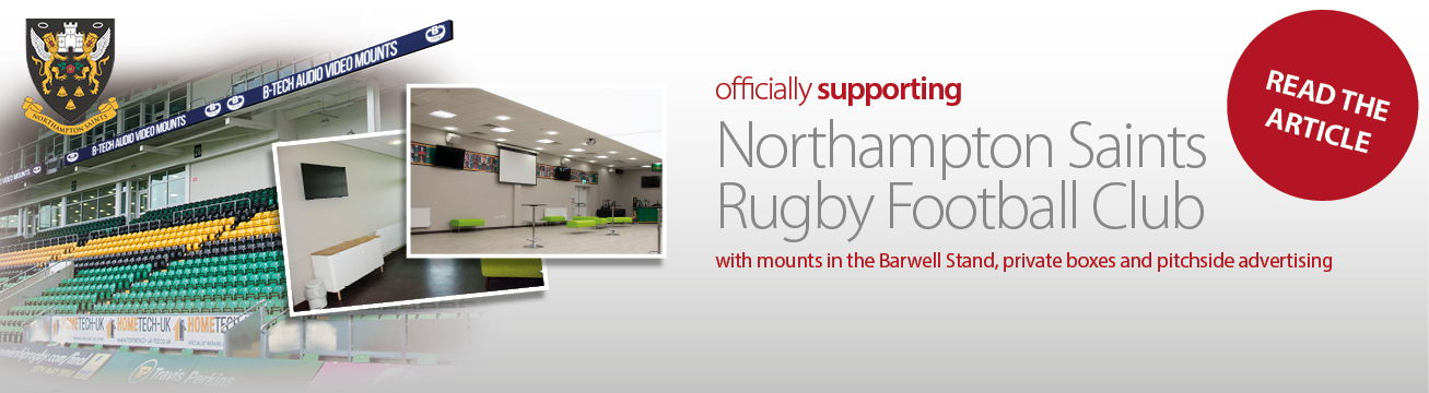Officially Supporting Northampton Saints in Stands, Private Boxes and More