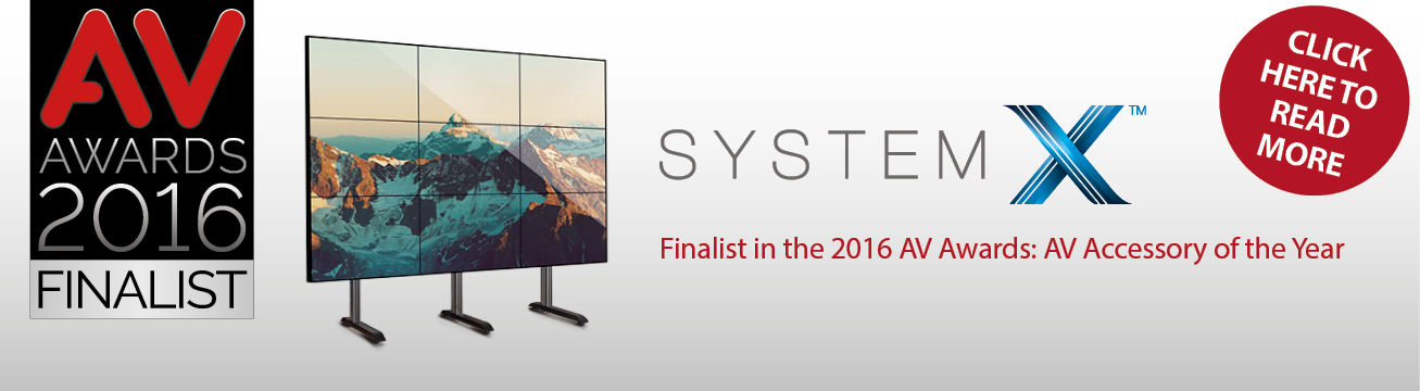 System X Selected as a Finalist in the AV Awards 2016