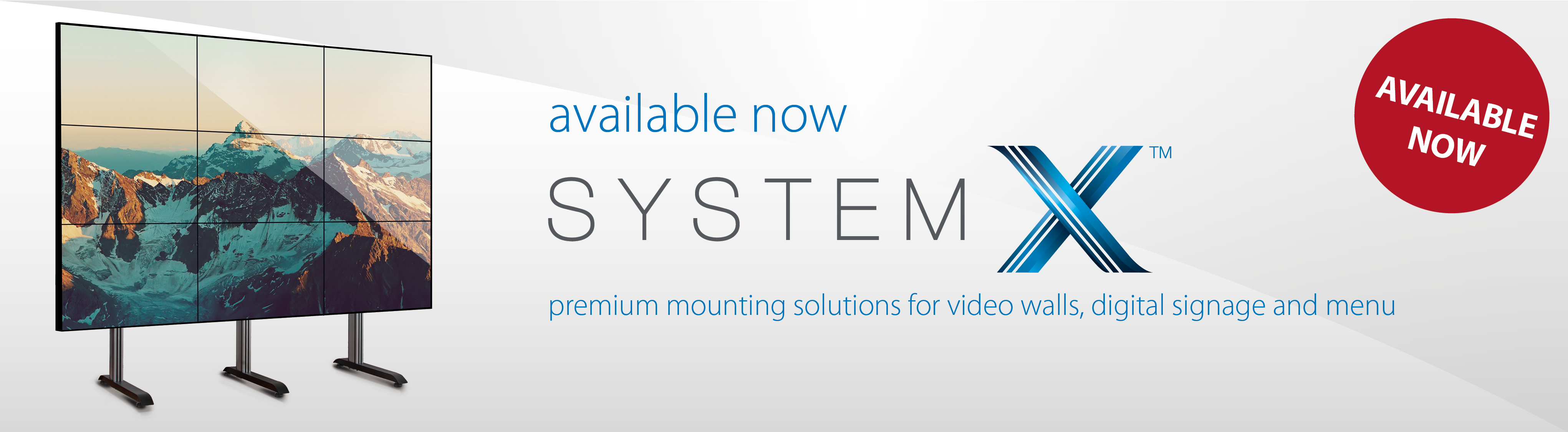 System X Range Now Available