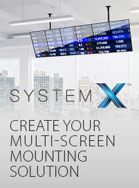 System X - Create your multi-screen mounting solution