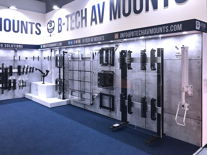 B-Tech InfoComm SEA 2019 Stand