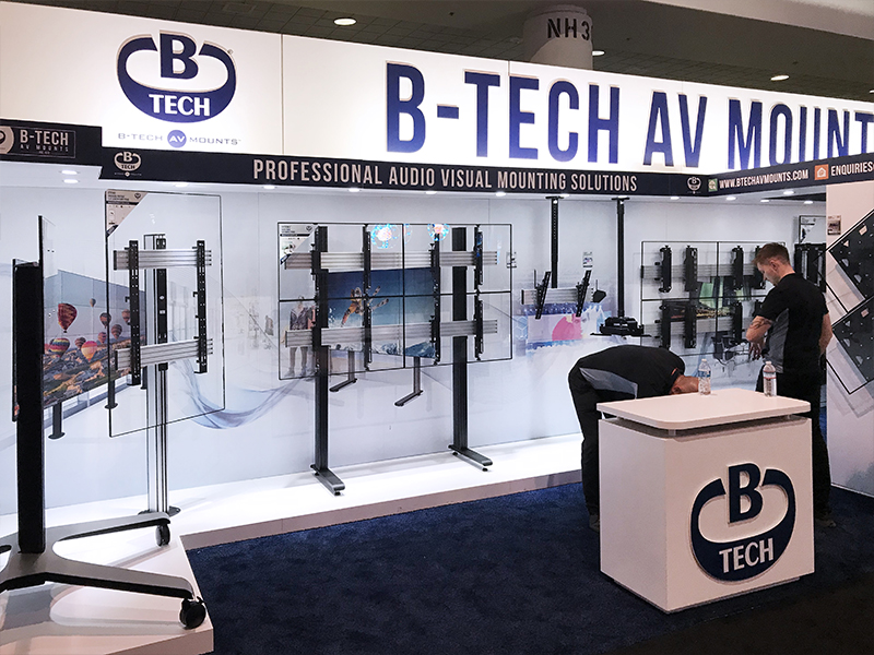 B-Tech DSE 2019 Stand