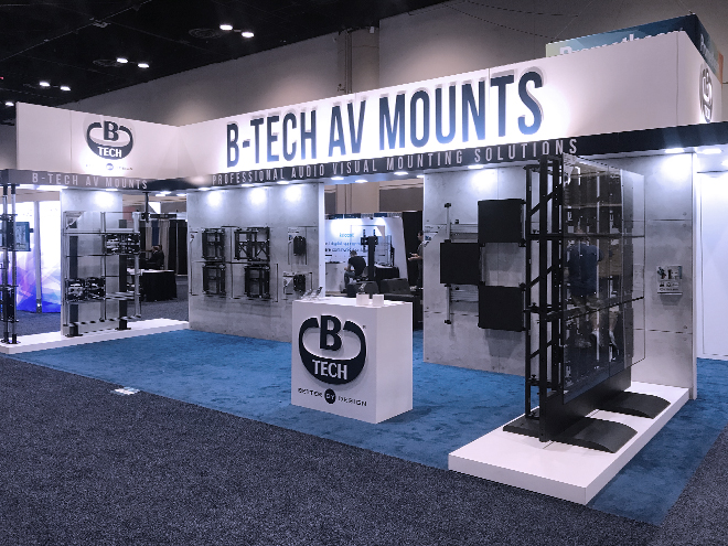 B-Tech InfoComm 2019 Stand