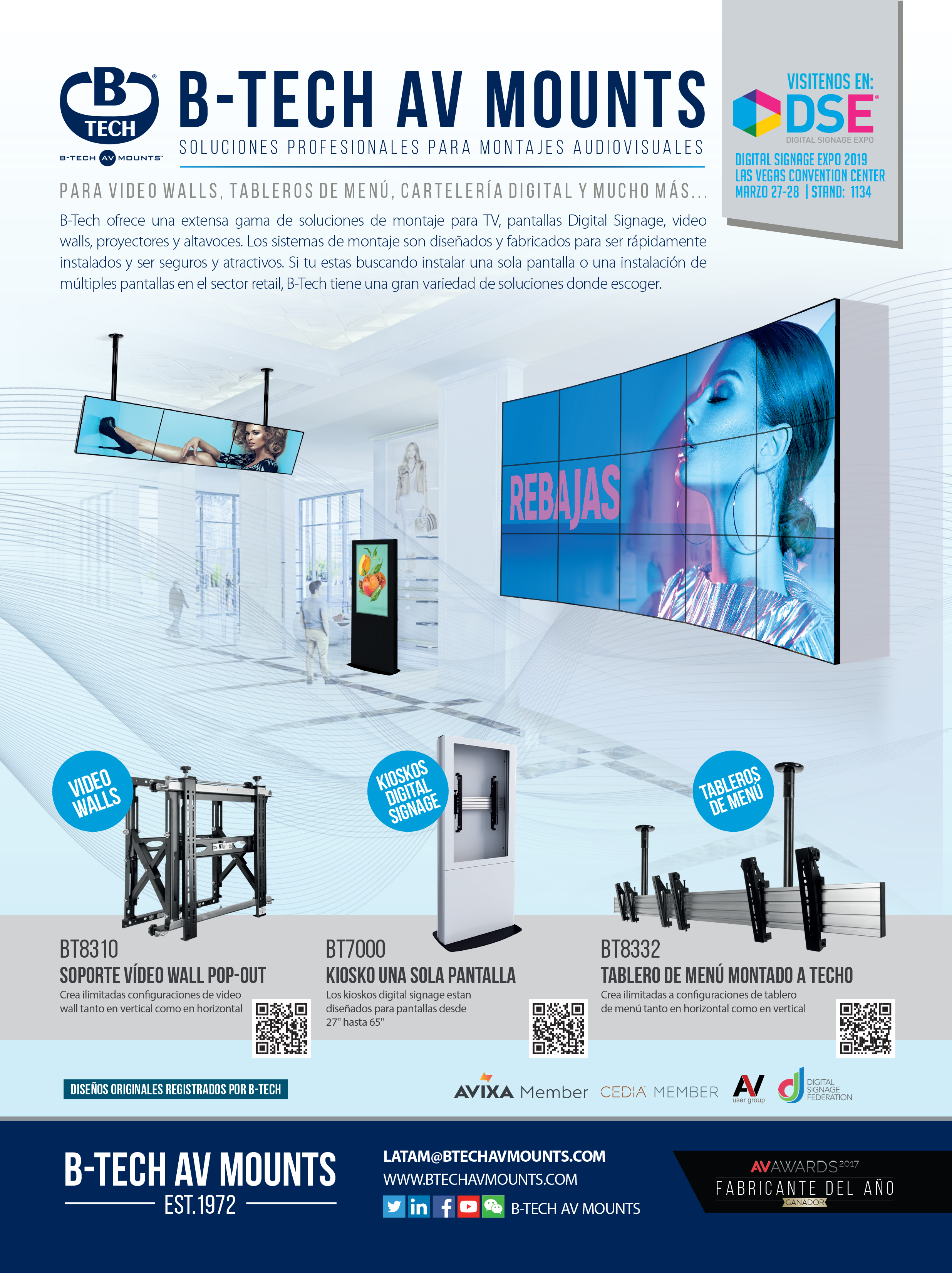 AV Latino America Advert - March 2019