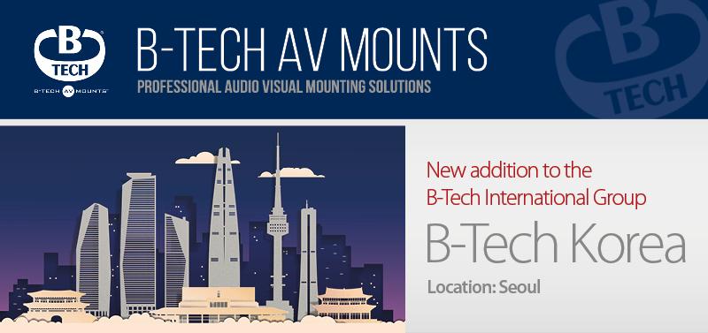 B-Tech Korea Launch