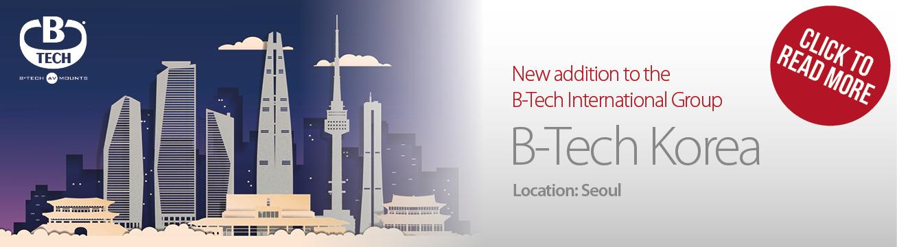 Launch of B-Tech Korea