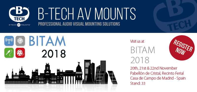Visit B-Tech at Bitam Show 2018