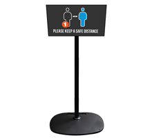 Flat Screen Display Stand with Tilt