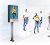 BT7004 - Bolt Down Digital Signage Mount with Screen Enclosure