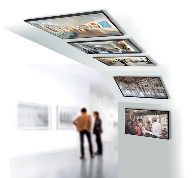 Giá treo màn hình phẳng BT7555 gắn trên trần