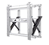 Side arms are reinforced to hold heavy loads up to 125kg