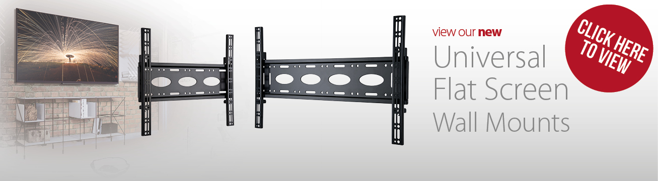 New universal flat screen mounts from B-Tech