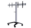 BT8514 - Black/Silver Universal Twin Screen VC Trolley