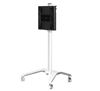 BT8563 - Universal flat screen trolley with height adjustment - White