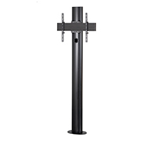 BT8704 - Premium Bolt Down Single Screen UC Stand - Black