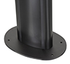 BT8704 - 8mm steel base secures the column to the floor