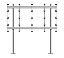 BT93INFWP-B-4X4  - Bolt Down Stand for INFiLED WP Series 4x4 DVLED Videowall