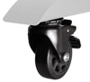 BT93INFWP-M-5X5 - Includes non-marking 4 inch locking / braked castors
