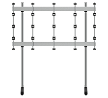 BT93INFWP-B-4X4  - Floor Stand for INFiLED WP Series 4x4 DVLED Videowall