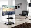 BTF800 Flat Screen TV Stand with Square Base