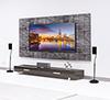 BTV910 Home Cinema Speaker Stands - Lifestyle