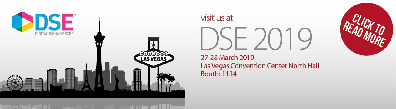 B-Tech head for Vegas for Digital Signage Expo