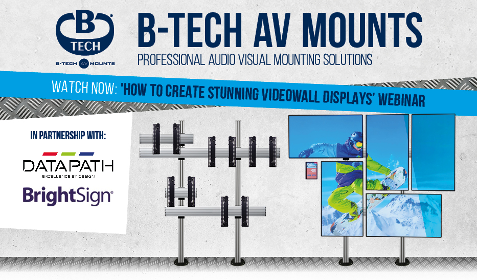 'How to Create Stunning Videowall Displays' Webinar