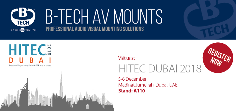 Visit us at Hitec Dubai 2018
