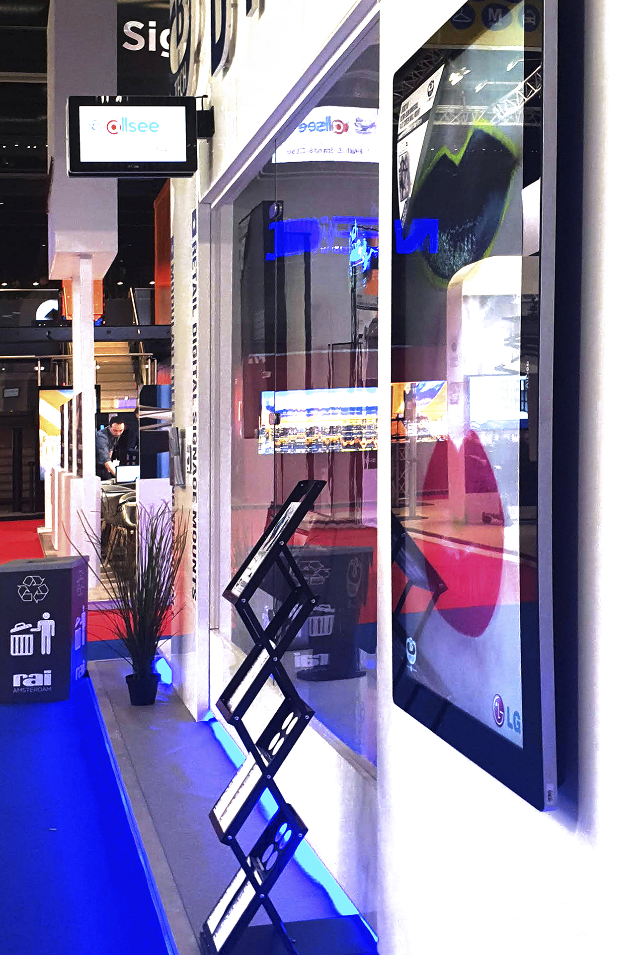 B-Tech ISE 2019 Stand
