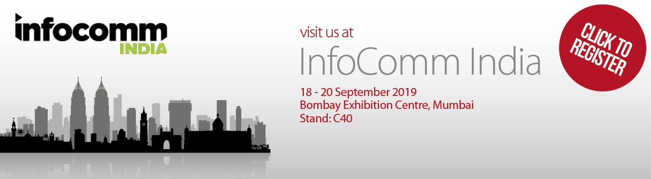 InfoComm India 2019