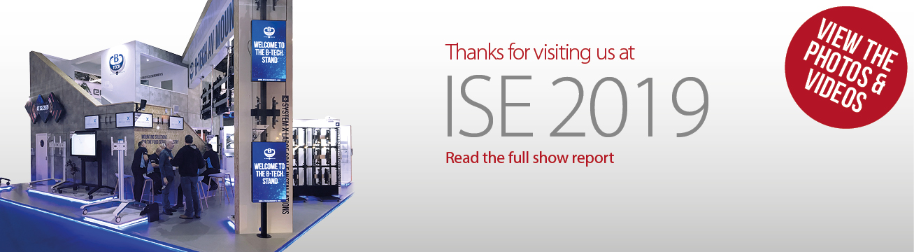 Thanks for visiting us at ISE 2019