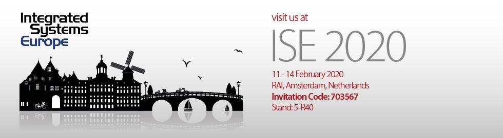 Visit us at ISE 2020