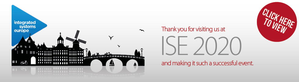 Thank you for visiting us at ISE 2020