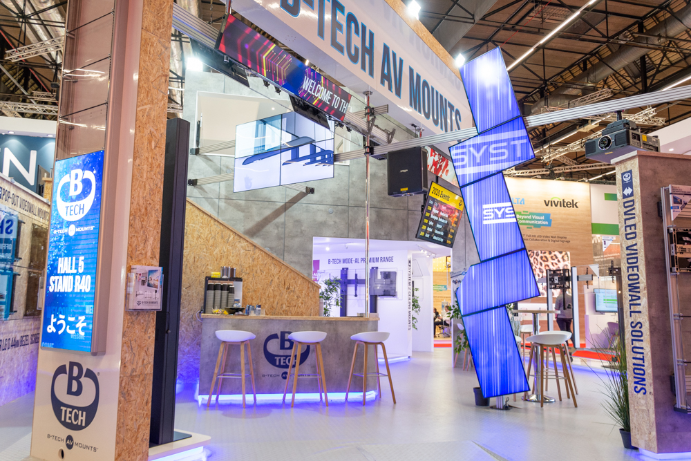 B-Tech Booth at ISE Amsterdam