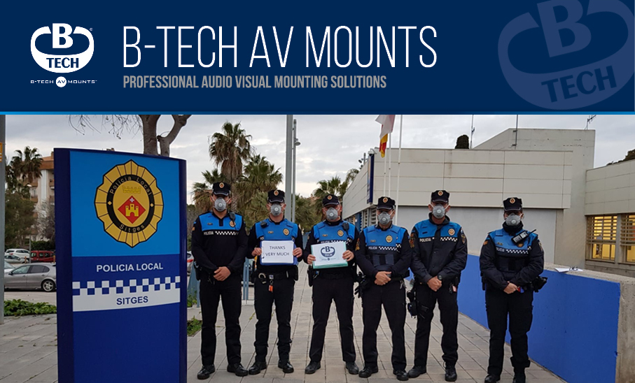B-Tech AV Mounts partner with Ligra of Italy